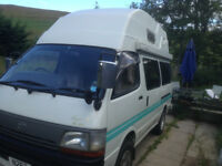 Toyota Hiace Campervan, Diesel Automatic, 2 Berth, QUICK SALE REQUIRED, PRICE REDUCED