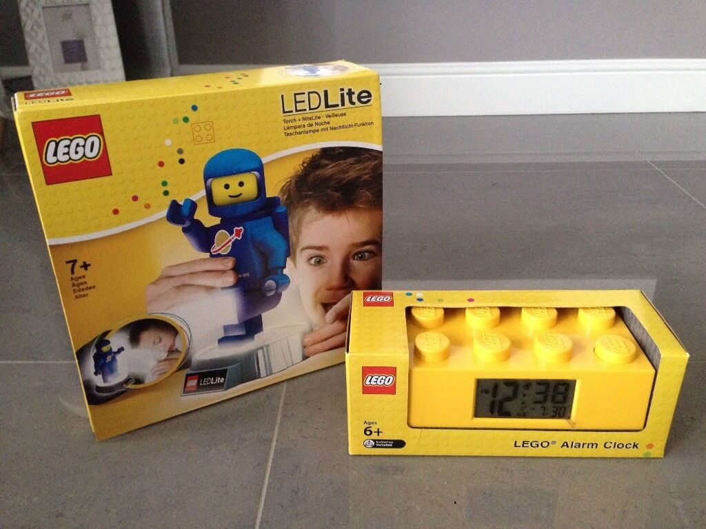 Rocking crib for sale doncaster - Brand New Lego Alarm Clock Led Night Light