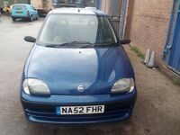 For sale Fiat Seicento 1.1cc.