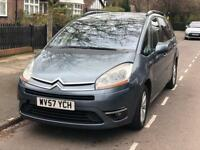 REDUCED £1499 2008 Citroen c4 Automatic Diesel 7 seater. Vauxhall bmw Mercedes ford audi