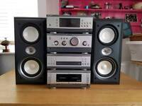 Sony stack system and speakers