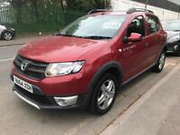 2014 DACIA SANDERO STEPWAY AMBIANCE 1.5 DCI DIESEL. 2 OWNERS. 20 TAX. ONLY 40000 MILES. IDEAL UBER.