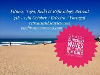Fitness, Yoga, Reiki & Reflexology Retreat Portugal from € 450 (7th - 12th October)