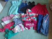 Age 1-2 Girls clothes bundle