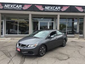 2013 Honda Civic EX 5 SPEED A/C SUNROOF BACKUP CAMERA 77K