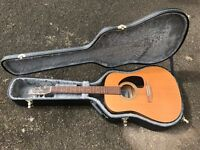 Seagull S6 Original Acoustic Guitar w/ FREE hard case, Dunlop capo and Planet Waves winder
