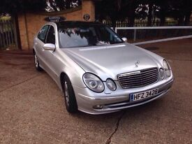 Mercedes Benz E320 CDI Limited Edition in excellent condition