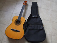 Herald Classical Guitar With Case