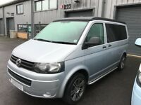 VW T5 Campervan *AIR CONDITIONING* silver, 1 owner, FVWSH, full leather, reversing sensors,