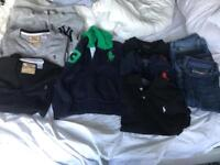 Used Designer boys clothes, age 8, Diesel, RL, collection ha7