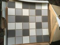 Mosaic ceramic tiles