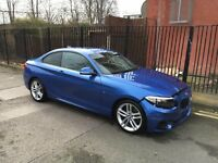 2016 BMW 2 SERIES 220I M SPORT AUTO F22 COUPE ESTORIL BLUE DAMAGED SALVAGE REPAIRABLE
