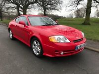 2003/53 HYUNDAI COUPE SE LOW MILES LEATHER INTERIOR FULL MOT MAY P/X