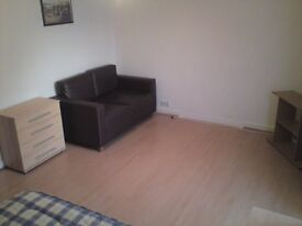 Queen Size (Very Large Room) Double Bed, Sofa, Fully Furnished