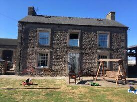Farm house to rent in Cockerham