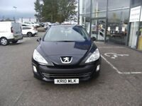 2010 10 PEUGEOT 308 1.6 S 5D AUTO 118 BHP **** GUARANTEED FINANCE **** PART EX WELCOME ****