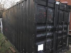 21ft shipping container / storage container