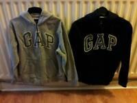 2 x Boys Gap Hoodies Size L ( 10-11 years )