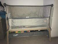 Tutti Bambini Cozee bedside baby cot