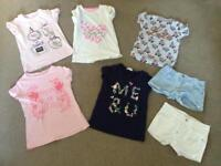Girls summer clothes bundle age 8 - 9 - 10