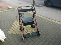 Wheel chair zimmer folding