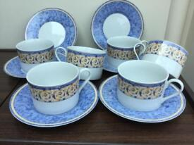 Tea cups and saucers fantastic condition as new very little used