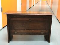 Antique Campaign Furniture side-table