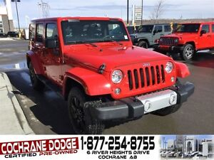 2015 Jeep WRANGLER UNLIMITED Sahara w/LEATHER AND BACK-UP CAMERA