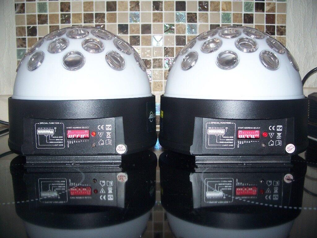 Disco Lights - ADJ Jelly Domes X2