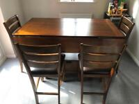 Kitchen High Table and chairs