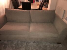 Marks & Spencer 3 seater and 2 seater beige settees