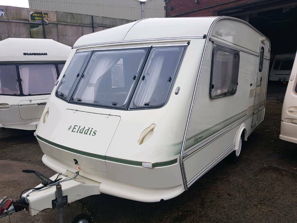 Elddis 2 berth touring caravan