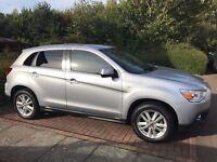 Mitsubishi ASX 3 - 4WD - 1.8L Diesel (Bluetooth/Xenon headlights/Heated Seats/60+Mpg)