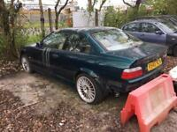 BREAKING PARTS SPARES - BMW 3 series E36 328i Sport M52 Coupe Boston Green 2dr - engine sold