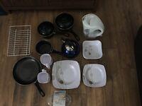 Caravan, Camping Kitchen Cooking Items