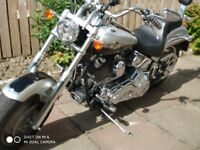 Harley DAvidson Softail Deuce. with 12 month MOT and brand new rear tyre