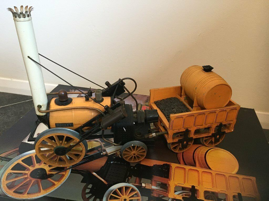 ANTIQUE / VINTAGE Hornby Stephensons Rocket 3 1/2 Inch Gauge Live Steam  Loco Kit Good Working Order | in Banchory, Aberdeenshire | Gumtree