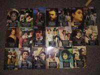 20 audio book cassettes, classic books