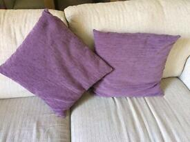 Stylish Purple Cushions
