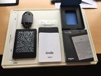 Kindel Paper White touch screen WiFi used excellent condition.