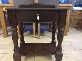 Small dressing table/bedside table