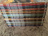 Walking dead graffic novels