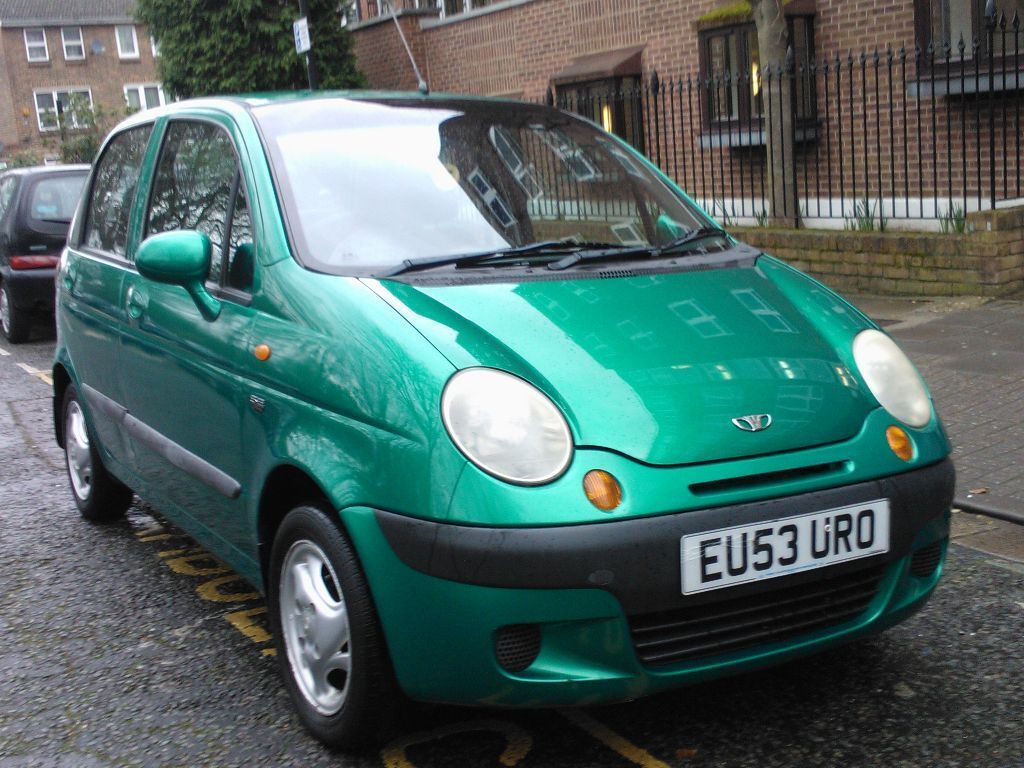 DAEWOO MATIZ 1.0 SE PLUS 2003 53 REG MET GREEN 5 DOOR HATCHBACK 5 SPEED  MANUAL
