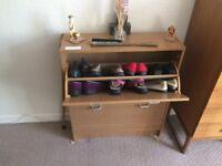 Shoe boot holder cabinet