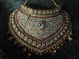 Beautiful wedding jewellery