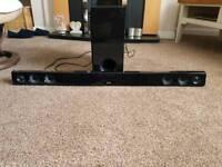 LG Sound system with Woofer speaker