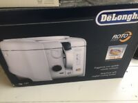 DeLonghi ROTO FRY deep fryer BOXED NEW