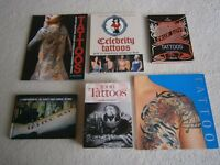 Various Collectable Hard/Paperback Tattoo Books