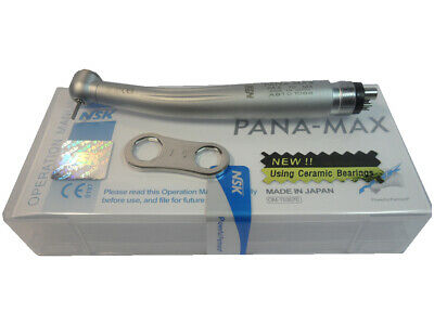 Nsk Pana Max Tu M4 Dental High Speed Handpiece Torque Push 4hole Ceramic Turbine