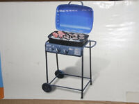 2 Burner Gas BBQ Barbecue Outdoor Garden Patio Balcony - Worcester
